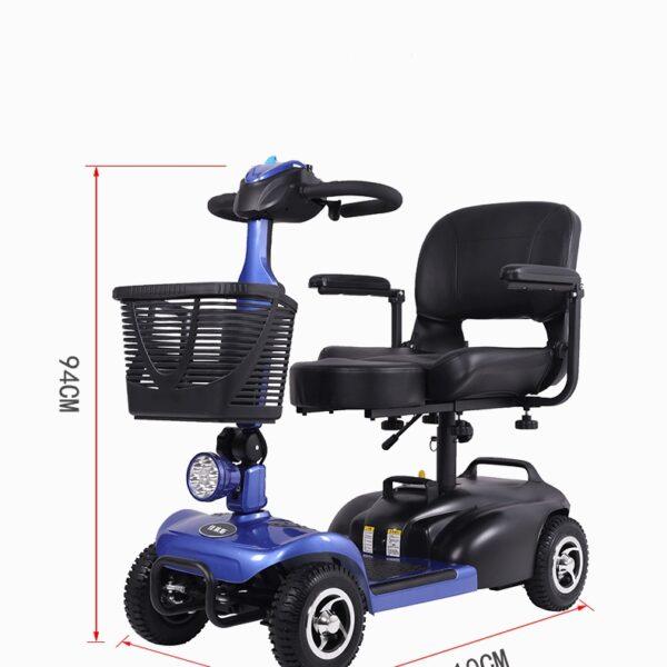 dimenzije električni skuter